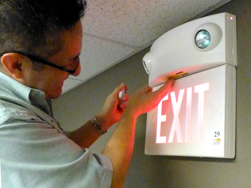 Emergency Exit Light Inspection And Installation Chicago