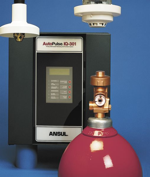 ANSUL Inergen® Clean Agent Fire Suppression Systems | Fox