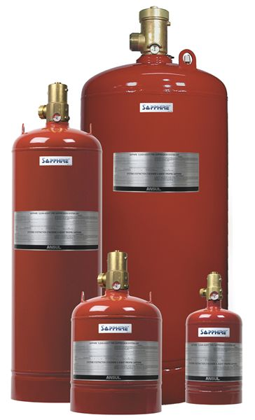 Ansul Sapphire Clean Agent Fire Suppression Systems Ii Fox Valley Fire Safety