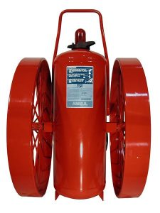 RED LINE Wheeled Fire Extinguisher CR-I-K-350-C