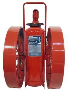 RED LINE Wheeled Fire Extinguisher CR-WW-I-K-150-C