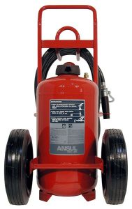 RED LINE Wheeled Fire Extinguisher CR-I-150-D