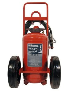 RED LINE Wheeled Fire Extinguisher CR-I-A-150-D