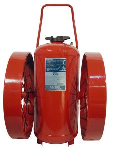 RED LINE Wheeled Fire Extinguisher CR-I-350-D