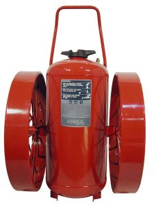 RED LINE Wheeled Fire Extinguisher CR-I-A-350-D