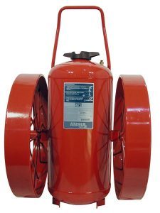 RED LINE Wheeled Fire Extinguisher CR-LR-I-350-D