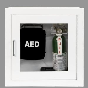 AED Cabinet Dual 1913F12