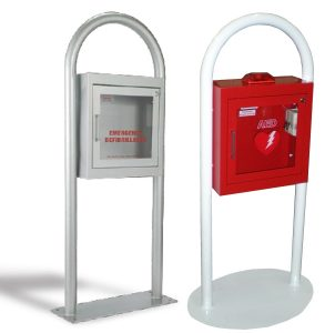 AED Cabinet Freestanding Stand Group