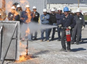 CLEANGUARD Extinguisher Discharge