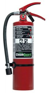 CLEANGUARD FE-36 FE05 5 lb. Extinguisher