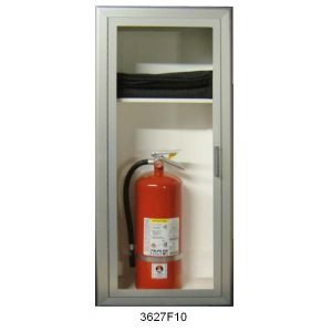 Fire Blanket and Extinguisher Combo Cabinet