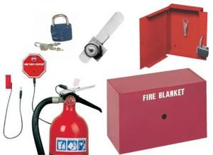 Fire Blanket Cabinet and Accessories Group