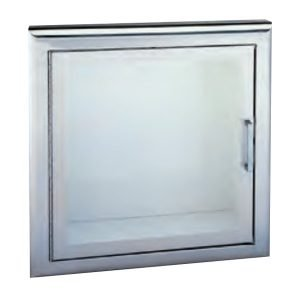 Fire Hose Cabinet with Full Glass