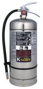 K-GUARD K01-2 UL Fire Extinguisher