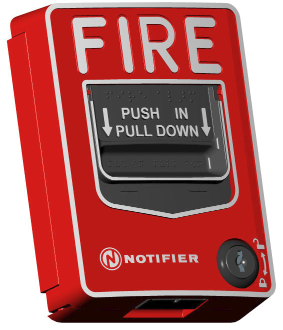 NOTIFIER Addressable Manual Fire Alarm Pull Station Fox