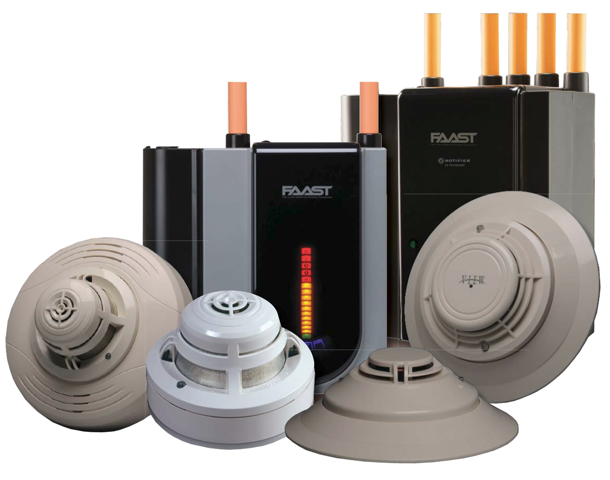 Fire Alarm Detection and Sensors