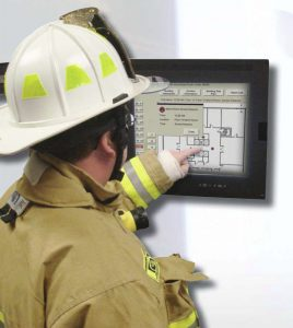 notifier lcd 80 fire alarm system annunciator fox valley fire Notifier Nfs2 3030 Wiring Diagram notifier onyx firstvision graphic information for emergency responders notifier nfs2-3030 wiring diagram