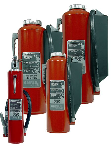 RED LINE Portable Fire Extinguishers Group