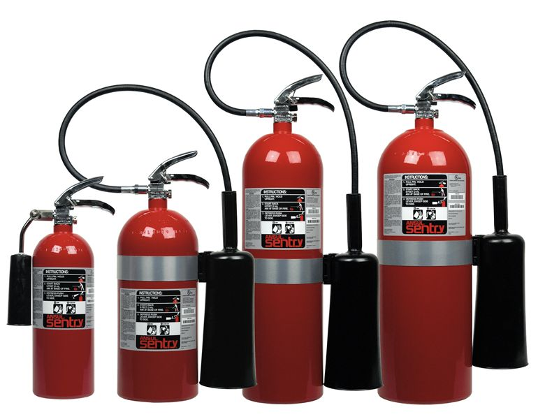 SENTRY Carbon Dioxide Fire Extinguishers