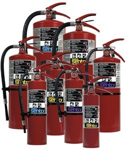 ANSUL Sentry® Dry Chemical Hand Portable Extinguishers