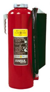 Ansul Class D Fire Extinguishers Fox Valley Fire Amp Safety