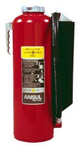 MET-L-X Extinguisher