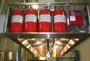 AMEREX KP Restaurant Automatic Fire Suppression System