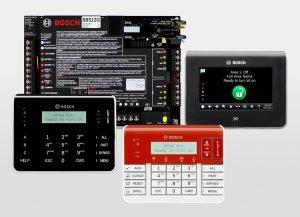 Bosch G-Series Keypads Control Panels