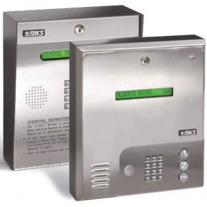 DoorKing 1835 Telephone Entry System with Single Line LCD Display