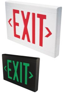 Dual-Lite Exit Signs LX Series