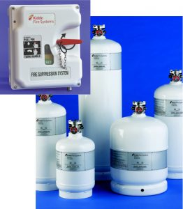 Kidde WHDR Wet Chemical Cylinders - XV
