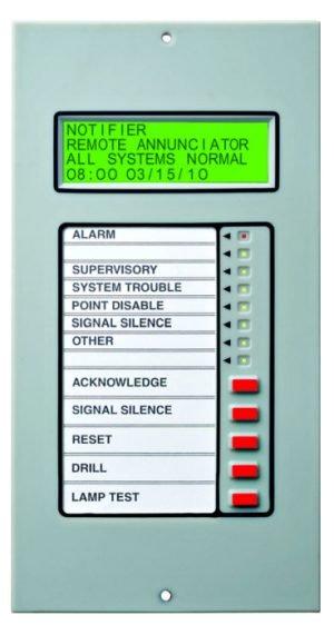 NOTIFIER LCD2-80 Fire Alarm System Terminal Mode Annunciator | Fox