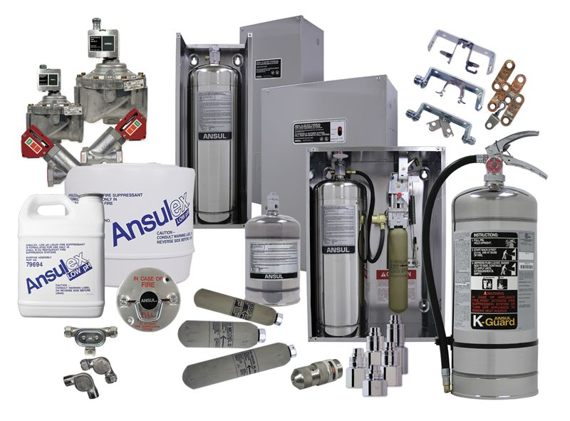 Ansul R 102 Restaurant Fire Suppression System Fox