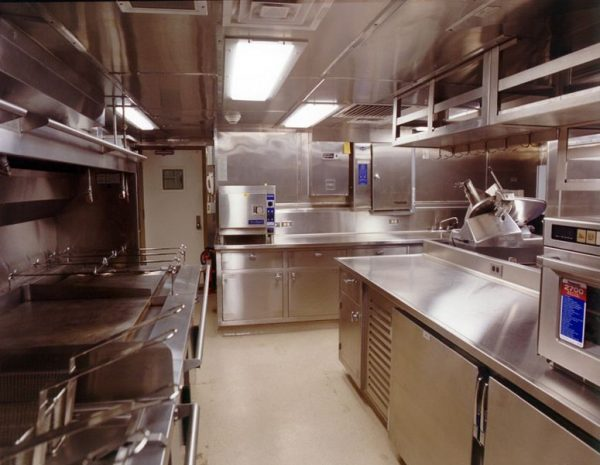 ANSUL R-102 Ship Galley Kitchen System