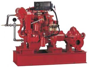 Horizontal Split Case Diesel Drive Fire Pump