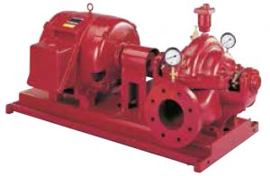 Horizontal Split Case Electric Drive Fire Pump