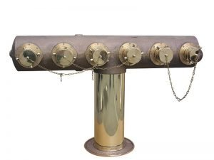 Six-Way Free-Standing Inlet Connection with Clapper Brass Body 5791 & 5792