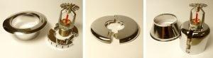 Retro-fit Escutcheons: Recessed, Flat and Adjustable