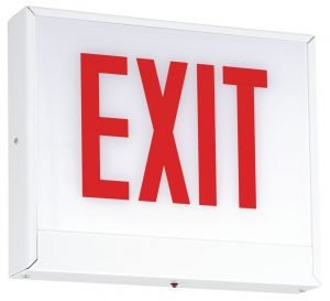 Chicago LED Steel Exit Sign CLS
