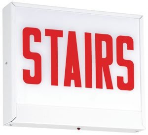 Chicago LED Steel Stairs Sign CLS