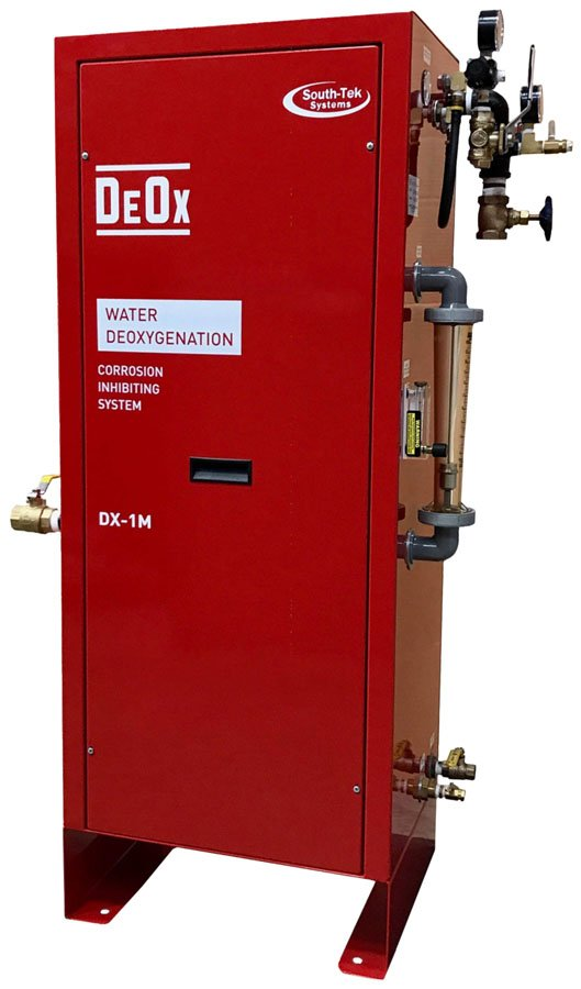 DeOx Water Deoxygenation Corrosion Inhibiting System