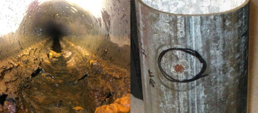 Dry Sprinkler Corrosion Pinhole Leak