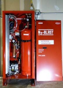 N2-Blast FPS-1650 Nitrogen Generator