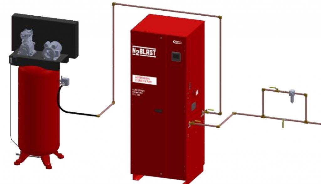 N2 Blast Nitrogen Generator Corrosion Inhibiting