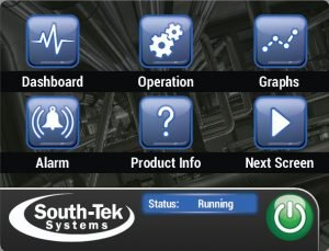 SMART-Trak User Interface Touchscreen