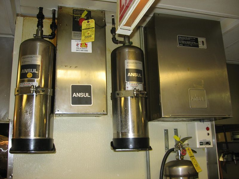 Restaurant Ansul Systems Chicago Naperville Geneva