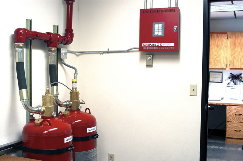 Fire Engineered Suppression Systems Fm200 Co2 Halon