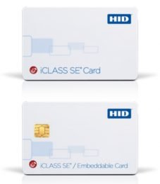 HID Card Credentials iCLASS SE