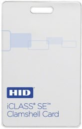 HID Card iCLASS SE Clamshell