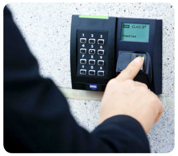 HID Keypad Biometric Readers Credentials Access Control